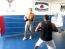 Тренировка Джуниора Дос Сантоса